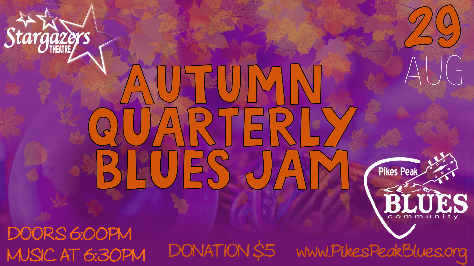 Autumn Qaurterly Blues Jam