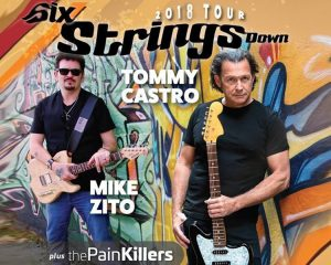 Tommy Castro & Mike Zito Six Strings Down @ Stargazers Theatre and Event Center | Colorado Springs | Colorado | United States